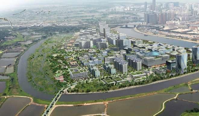 Lok Ma Chau Loop rendering