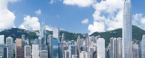 Hong Kong Smart City skyline