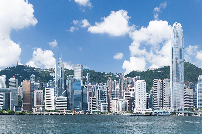 Hong Kong Smart City skyline