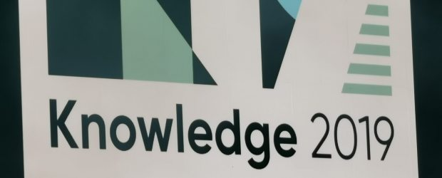 ServiceNow Knowledge 19 banner