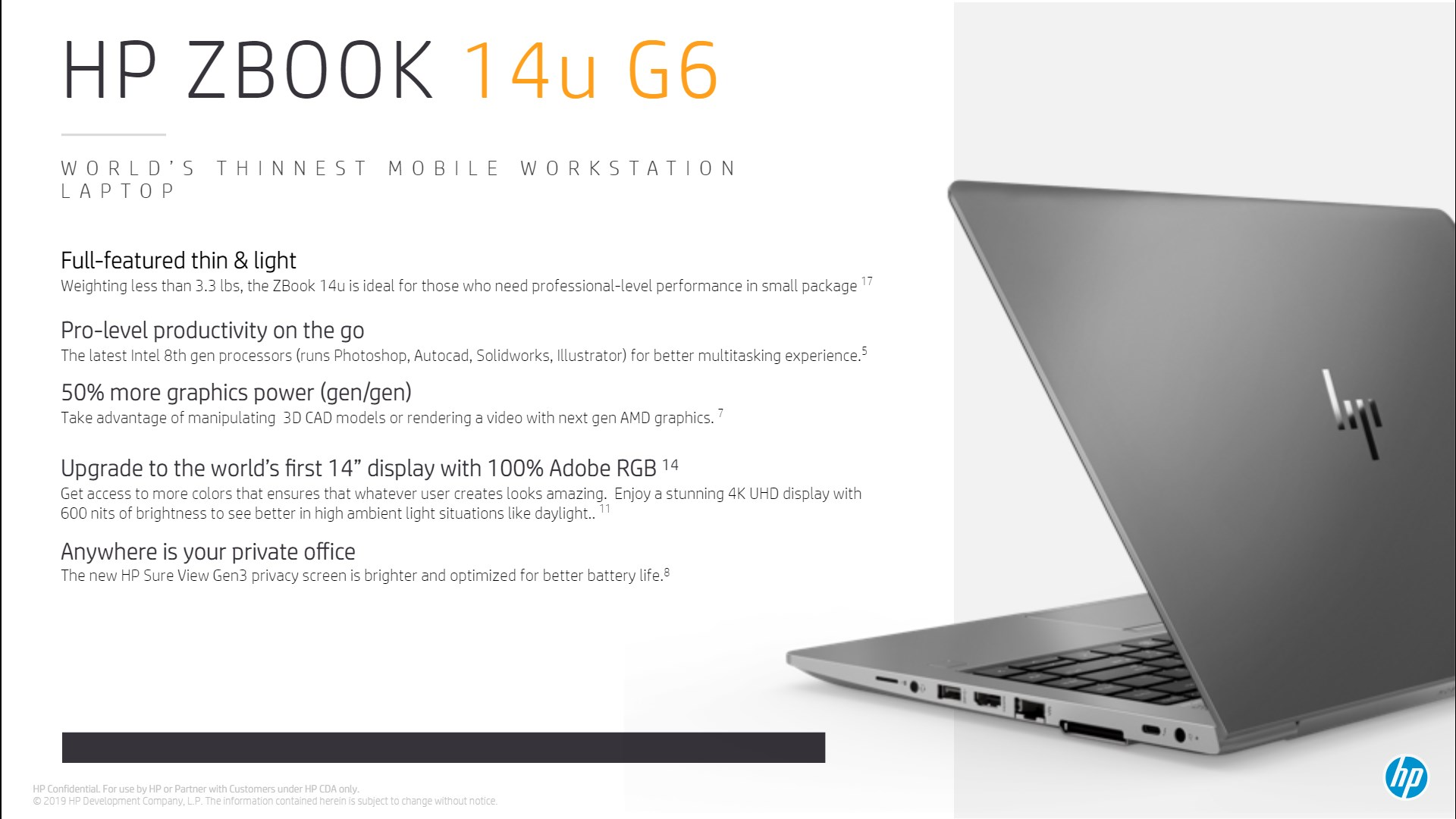 HP updates midrange EliteBook and ZBook with high-end