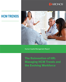 The Reinvention of HR: Managing HCM Trends and the Evolving Workforce