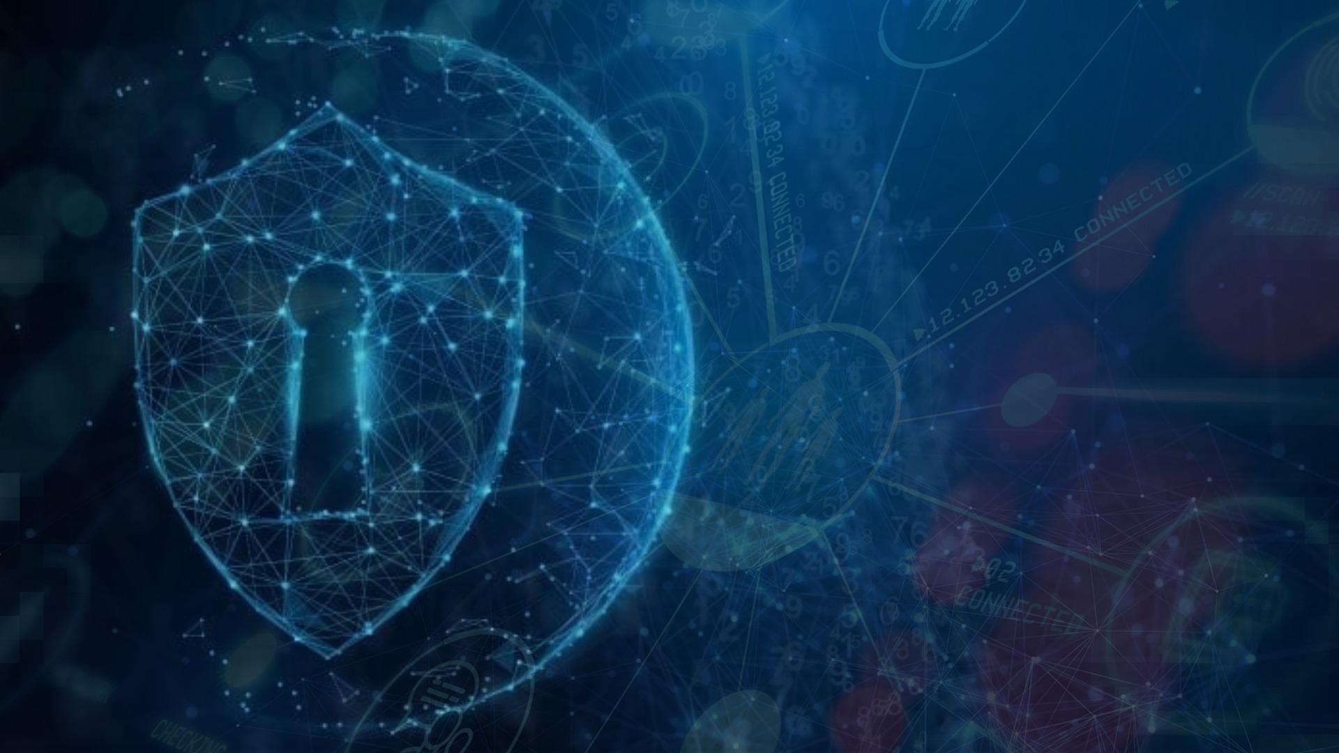 Security 3D illustration