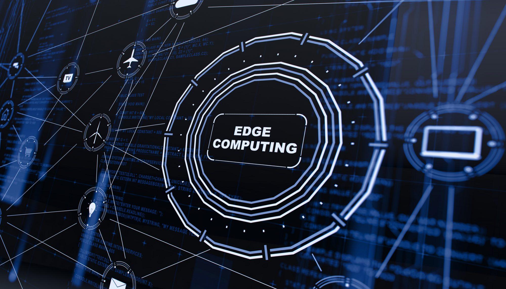 Edge computing 3D displayed