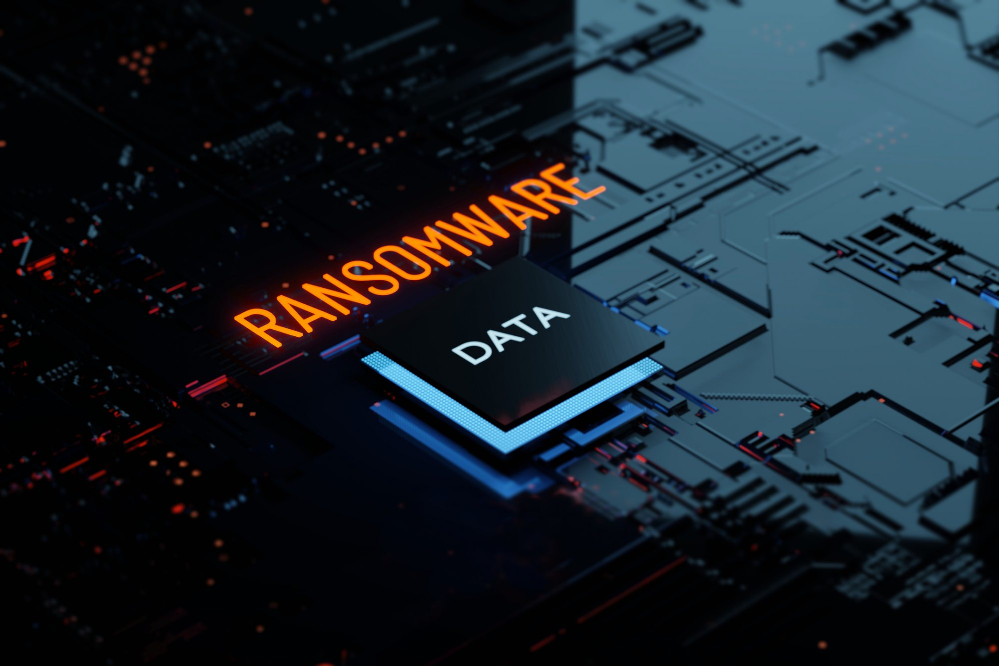 Ransomware background