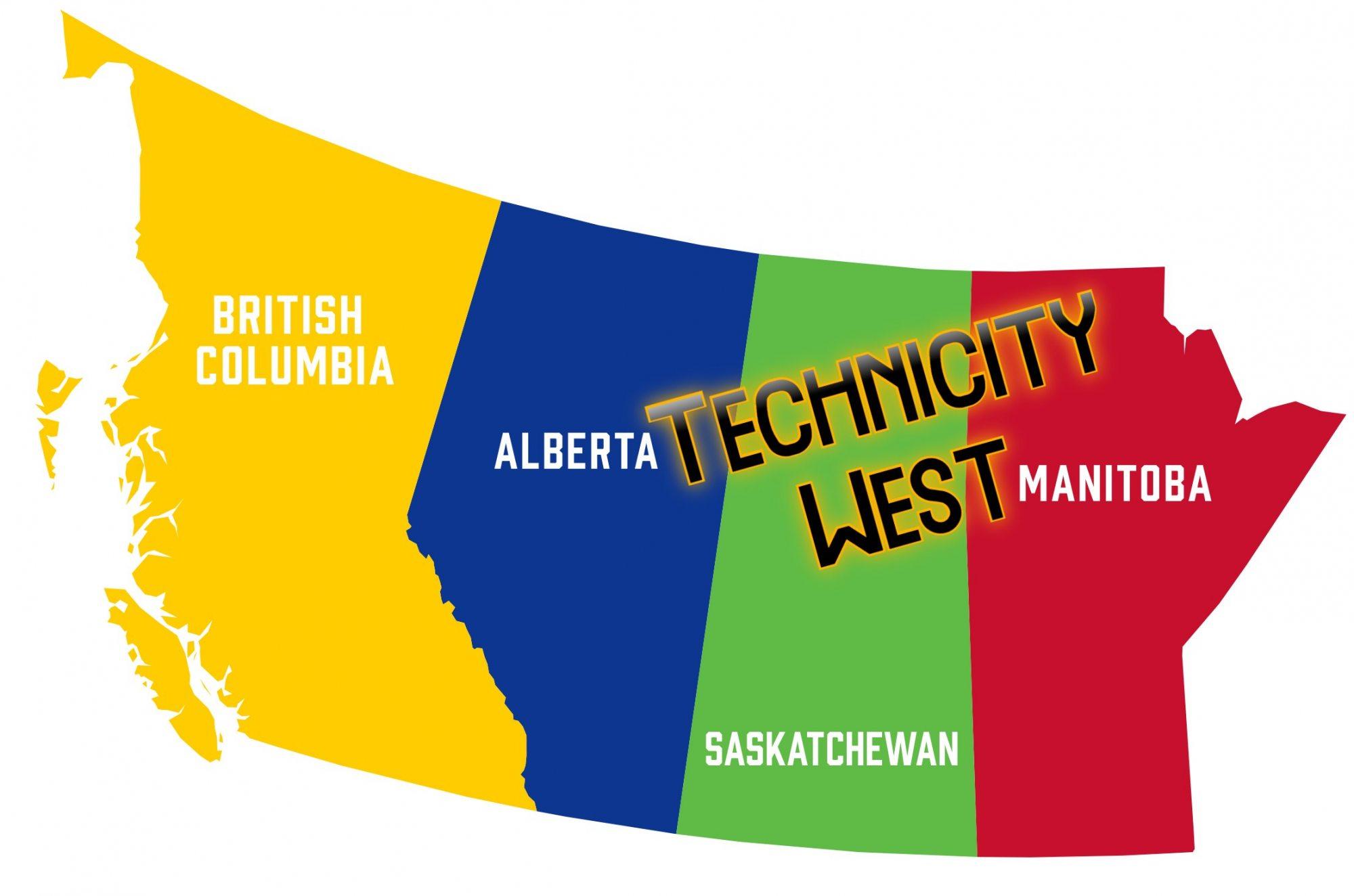 Technicity West map