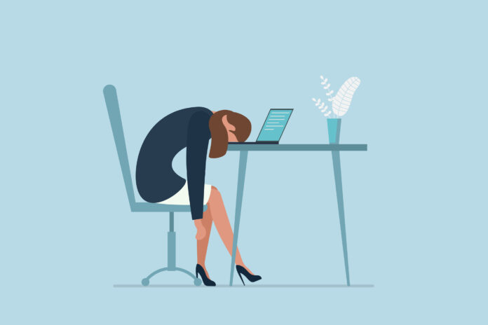 Professional burnout syndrome