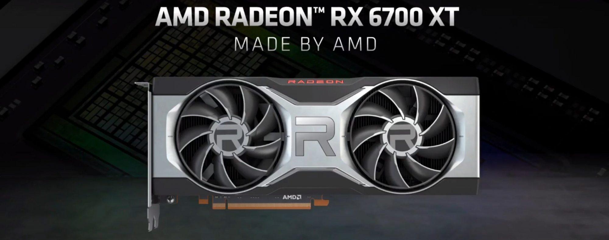 AMD RX 6700 XT graphic card