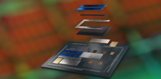 Intel Foveros chip packaging technology