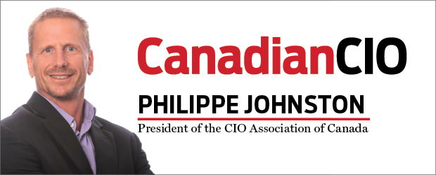 Canadian CIO Philippe Johnston