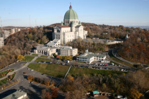Photo of Saint Joseph's Oratory of Mount Royal, Montreal, Québec, Canada | Aircam.ca | Getty Images