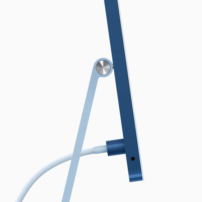 Apple's new magnetic power connector for the iMac
