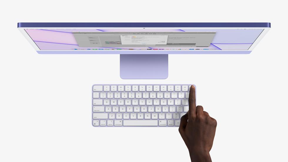 The Apple Magic Keyboard's fingerprint sensor usecase