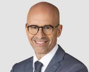 Portrait of Videotron CEO Jean-Francois Pruneau.
