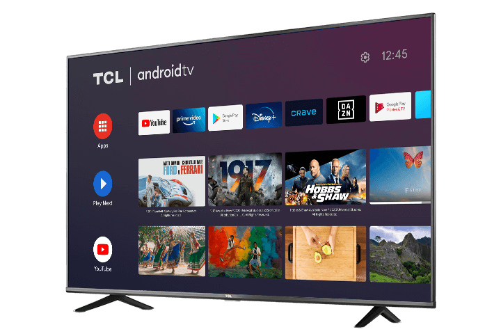 Picture of the TCL 4-series TV