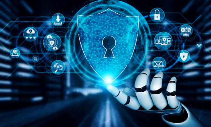 Photo depicting AI-powered cybersecurity innovations