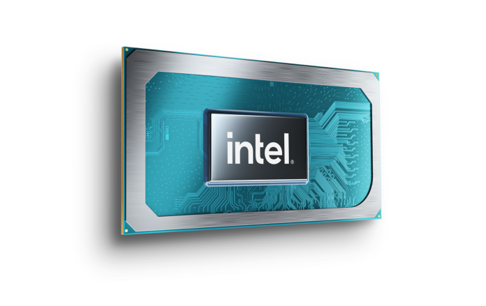Render of the Intel Tiger Lake-H processor