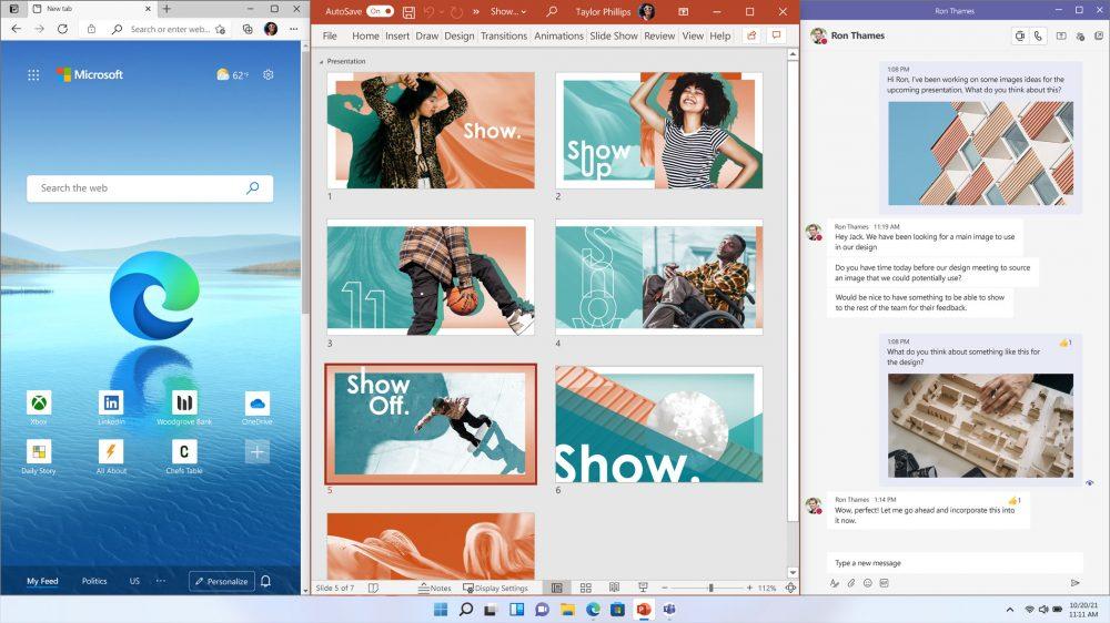 windows 11 snap desktop