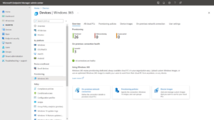 image of windows 365 endpoint management