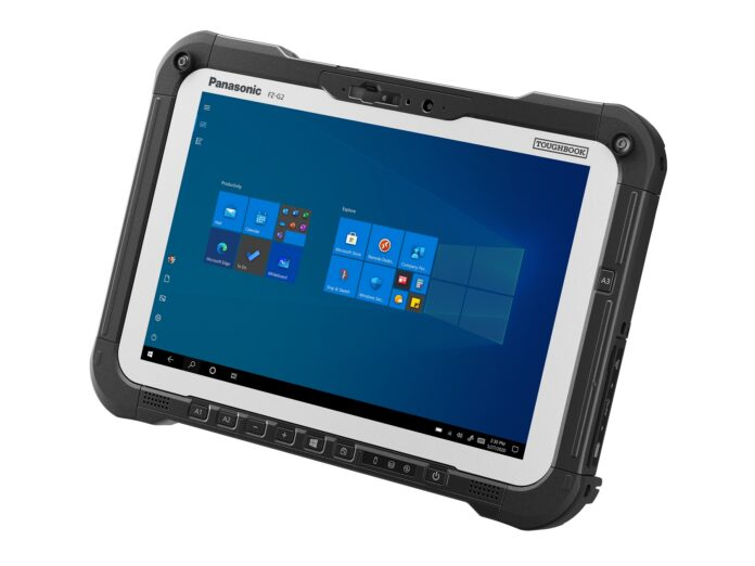 The Toughbook G2 in tablet mode
