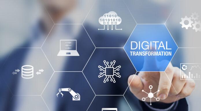 Photo depicting digital transformation trend