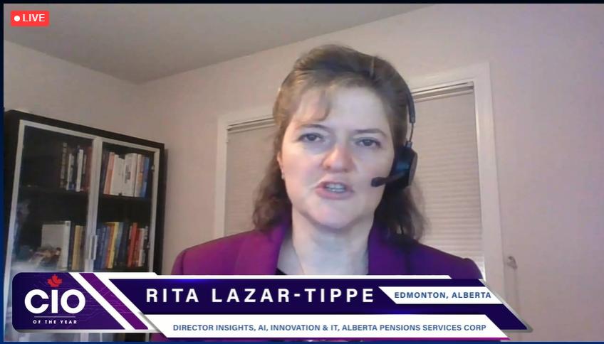 Screenshot of Rita Lazar-Tippe