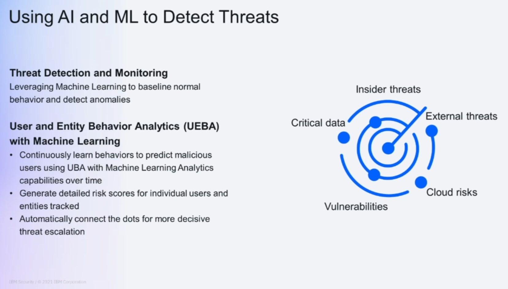 Ways AI can help alleviate banal work in threat detection.