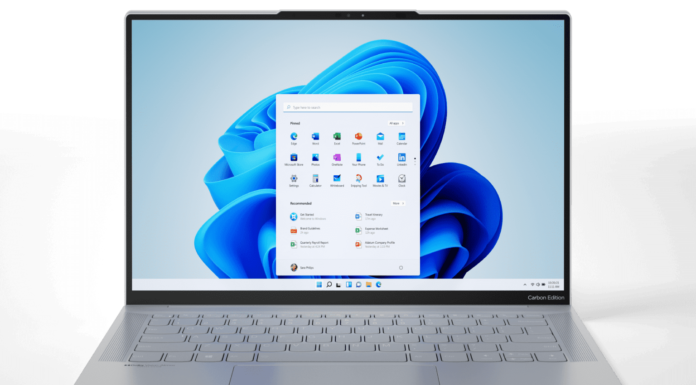 Windows 11 splashed on the IdeaPad Slim 7 Carbon laptop