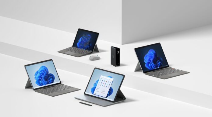 The new Surface device family.