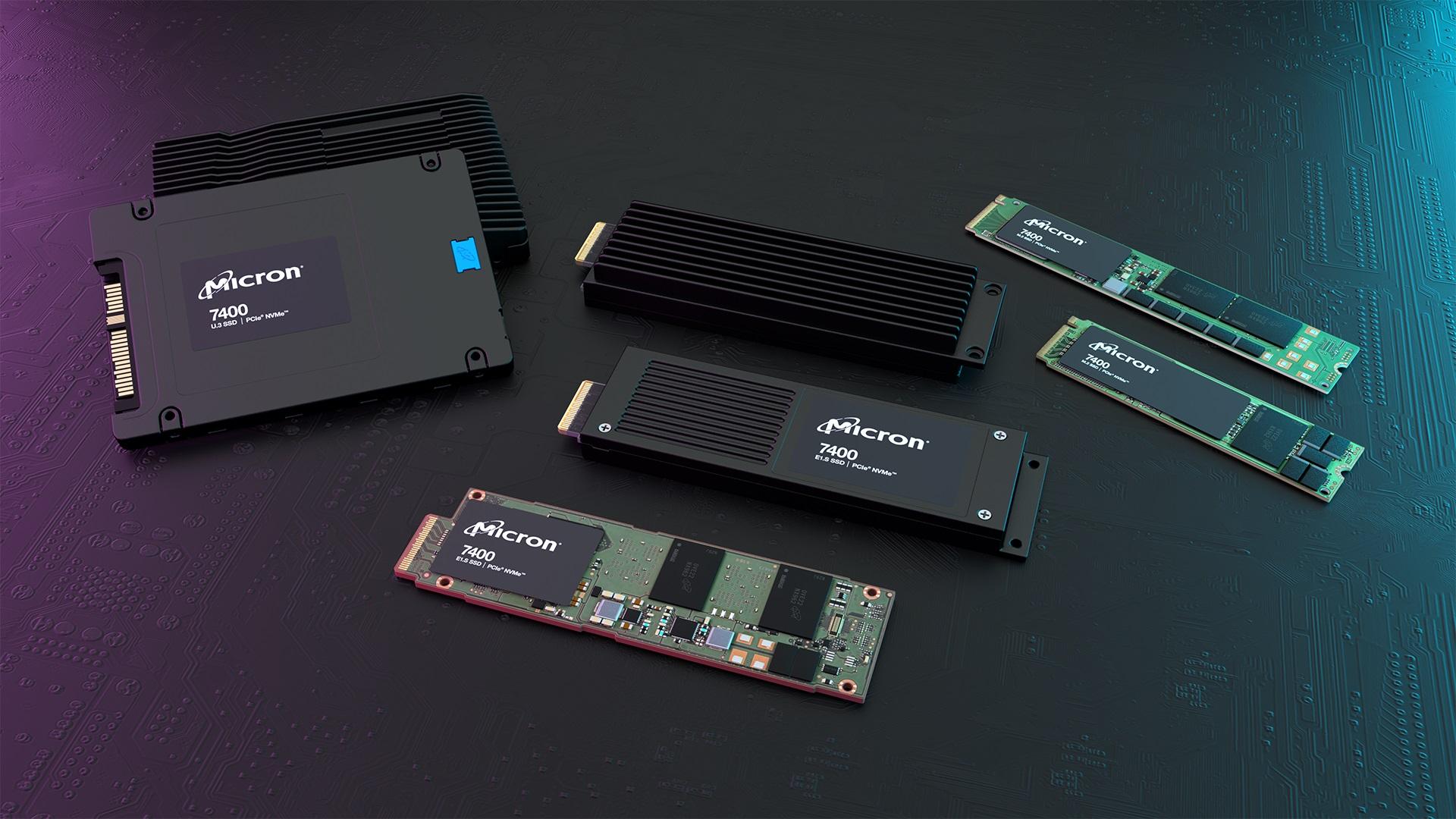 Micron 7400 SSDs