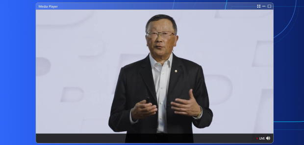 Photo of BlackBerry CEO John Chen