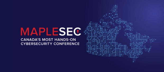 Logo forthe MapleSec conference