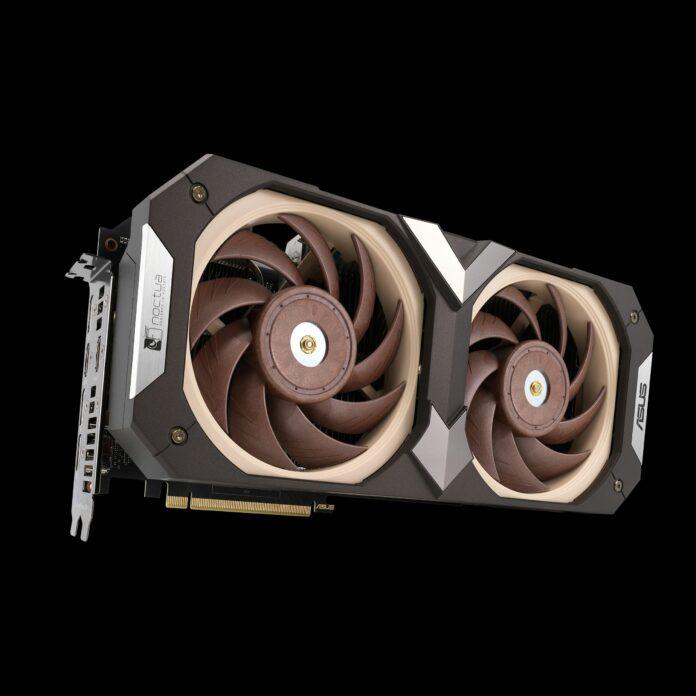 Asus GeForce RTX 3070 Noctua Edition front look